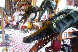 crocodiles réalisés avec B.Boulanger